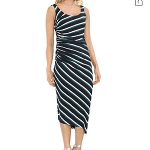 NWT Vince Camuto Tropic Heat F1 side ruched dress
